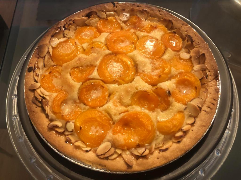 French Apricot Almond Tart
