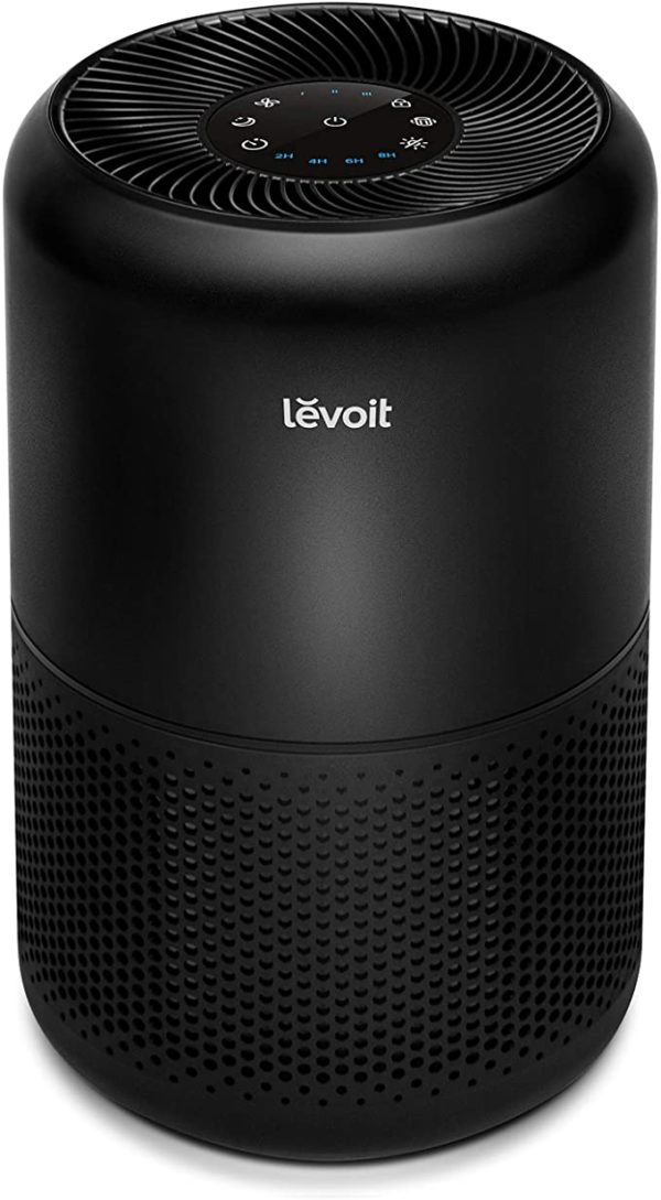 LEVOIT Air Purifier for Home Allergies Pets Hair Smokers in Bedroom, H13 True HEPA Air Purifiers Filter, 24db Quiet Air Cleaner, Remove 99.97% Smoke Dust Mold Pollen for Large Room, Core 300, White 9