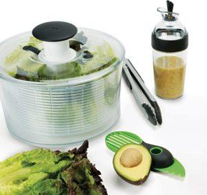 OXO 1188500 Good Grips Salad Dressing Shaker Clear,Large,Black 5