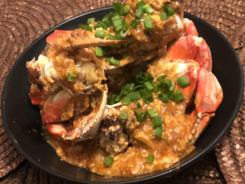 Steamed Crab in Beer Broth - Cua Hap Bia 5