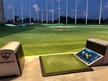 Topgolf party 13