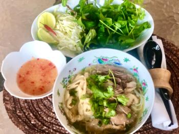 Duck & Bamboo Shoots Noodles Soup - Bun Vit Sao Mang 2