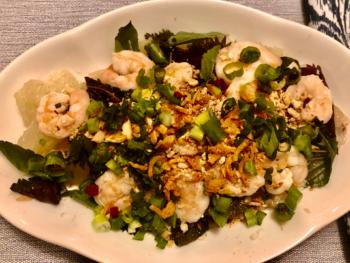 Thai Pomelo Salad - Yam Som O 1